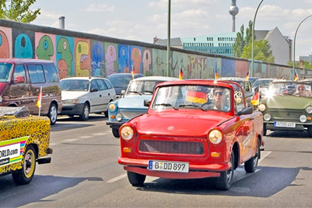 Trabi Safari Cars in Germany